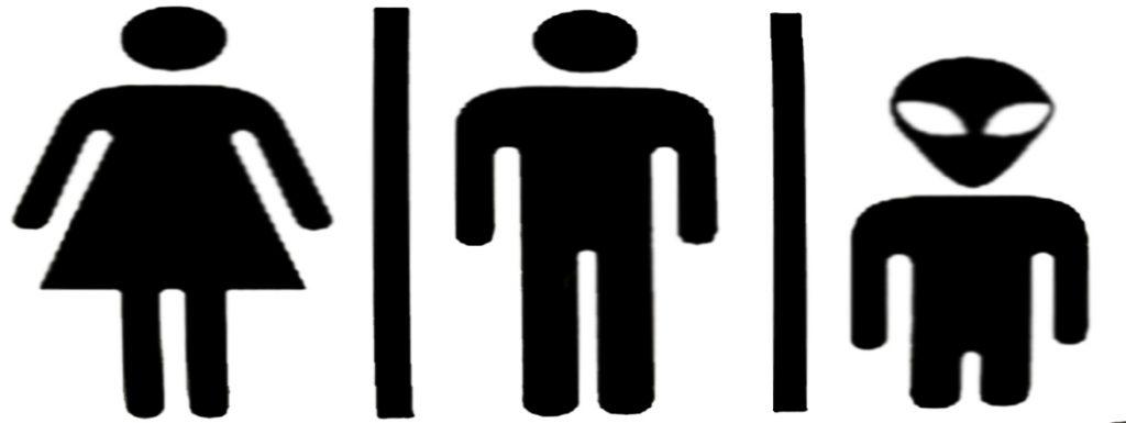 signo mujer hombre alien